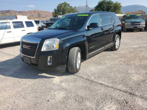 2012 GMC Terrain for sale at Canyon View Auto Sales in Cedar City UT