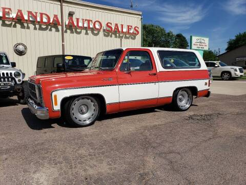 1979 GMC Jimmy for sale at De Anda Auto Sales in Storm Lake IA