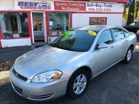 2008 Chevrolet Impala for sale at Best Cars R Us in Plainfield NJ
