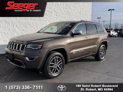 2019 Jeep Grand Cherokee for sale at SEEGER TOYOTA OF ST ROBERT in St Robert MO