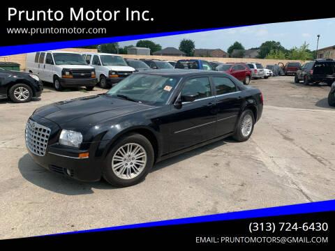 2008 Chrysler 300 for sale at Prunto Motor Inc. in Dearborn MI