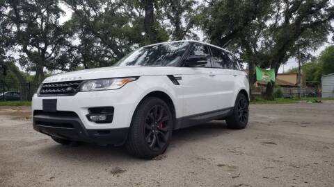 2014 Land Rover Range Rover Sport for sale at Clover Leaf Auto Group in San Antonio TX