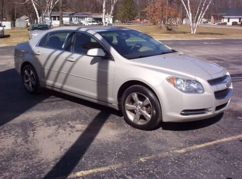 2011 Chevrolet Malibu for sale at LAKESIDE MOTORS LLC in Houghton Lake MI