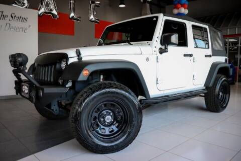 2016 Jeep Wrangler Unlimited for sale at Quality Auto Center in Springfield NJ
