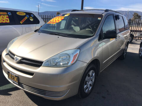 2005 Toyota Sienna for sale at Soledad Auto Sales in Soledad CA