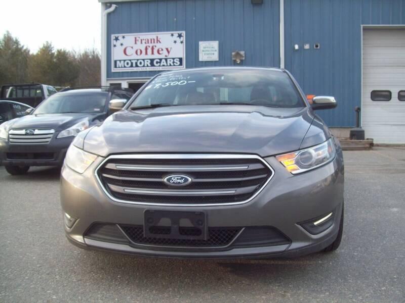 2014 Ford Taurus Limited 4dr Sedan - Milford NH