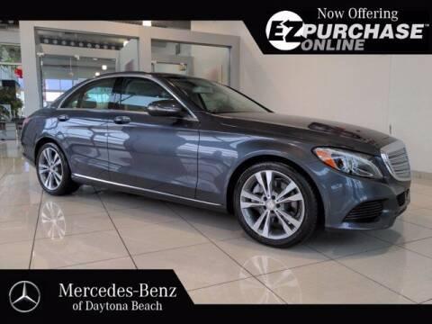2015 Mercedes-Benz C-Class for sale at Mercedes-Benz of Daytona Beach in Daytona Beach FL