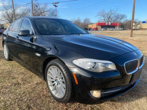 2012 BMW 5 Series for sale at Texas Select Autos LLC in Mckinney TX