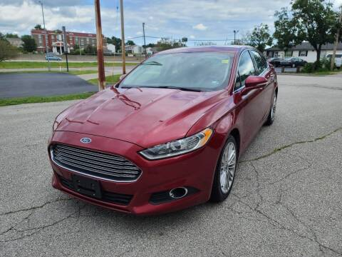 2016 Ford Fusion for sale at Auto Hub in Grandview MO