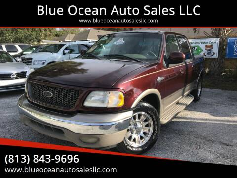 2002 Ford F-150 for sale at Blue Ocean Auto Sales LLC in Tampa FL