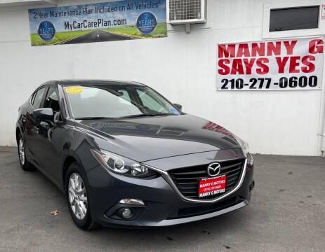 2016 Mazda MAZDA3 for sale at Manny G Motors in San Antonio TX