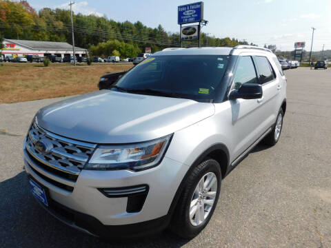 2019 Ford Explorer for sale at Ripley & Fletcher Pre-Owned Sales & Service in Farmington ME