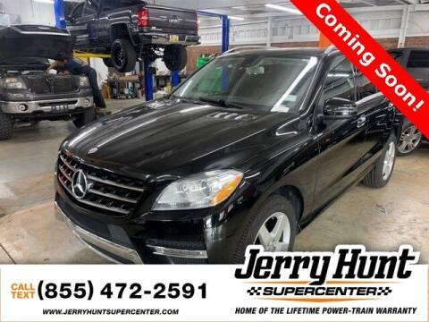2015 Mercedes-Benz M-Class for sale at Jerry Hunt Supercenter in Lexington NC