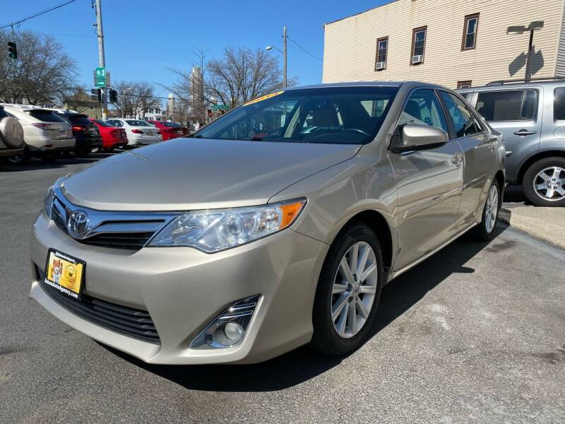 2014 Toyota Camry for sale at ADAM AUTO AGENCY in Rensselaer NY
