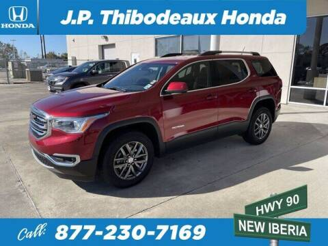 2019 GMC Acadia for sale at J P Thibodeaux Used Cars in New Iberia LA