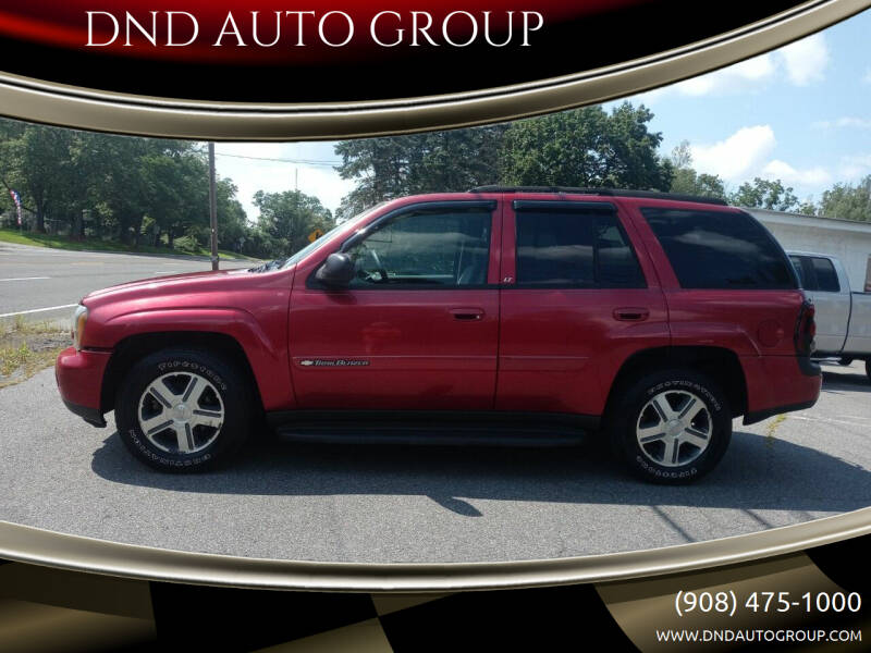 2004 Chevrolet TrailBlazer for sale at DND AUTO GROUP 2 in Asbury NJ