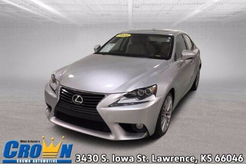 2014 Lexus IS 250 for sale at Crown Automotive of Lawrence Kansas in Lawrence KS