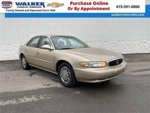 2005 Buick Century for sale at WALKER CHEVROLET in Franklin TN