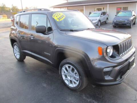 2020 Jeep Renegade for sale at Thompson Motors LLC in Attica NY