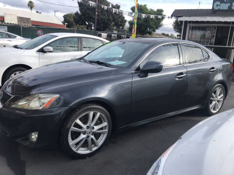 2007 Lexus IS 350 for sale at BAY AREA CAR SALES in San Jose CA