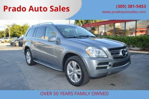 2012 Mercedes-Benz GL-Class for sale at Prado Auto Sales in Miami FL