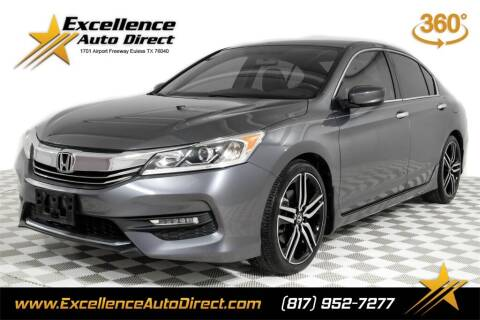 2016 Honda Accord for sale at Excellence Auto Direct in Euless TX