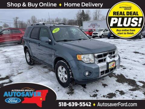 2012 Ford Escape for sale at Autosaver Ford in Comstock NY