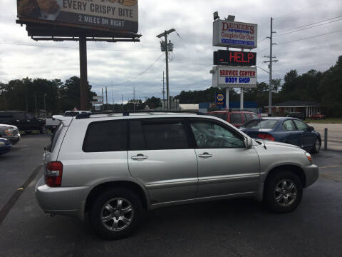 2007 Toyota Highlander for sale at Deckers Auto Sales Inc in Fayetteville NC