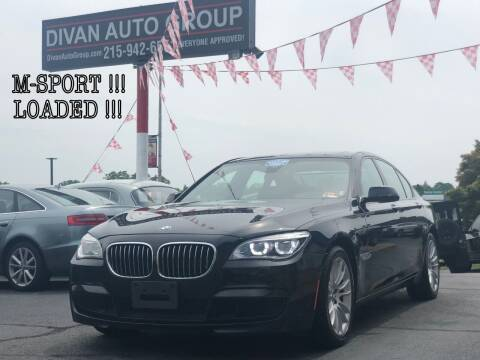2013 BMW 7 Series for sale at Divan Auto Group in Feasterville PA