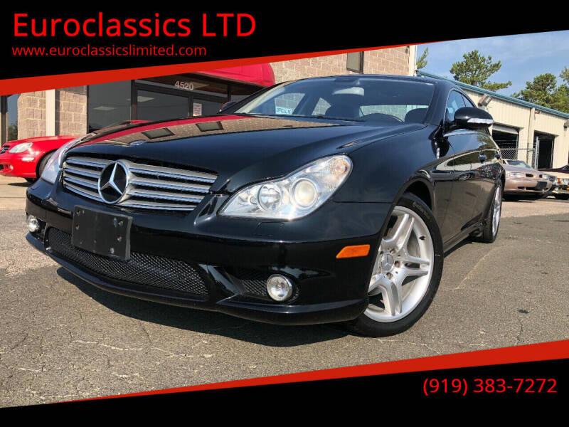 2006 Mercedes-Benz CLS for sale at Euroclassics LTD in Durham NC