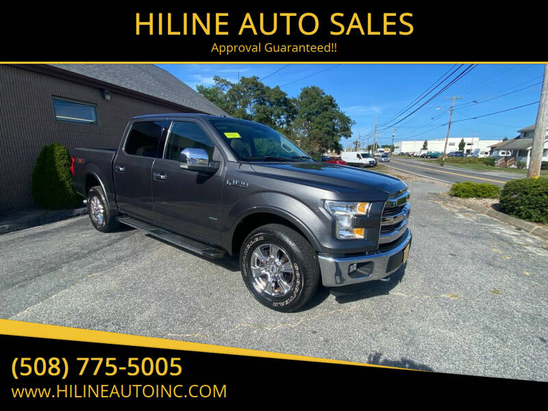 2015 Ford F-150 for sale at HILINE AUTO SALES in Hyannis MA