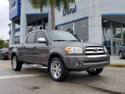 2006 Toyota Tundra for sale at DORAL HYUNDAI in Doral FL