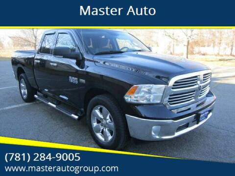 2013 RAM Ram Pickup 1500 for sale at Master Auto in Revere MA