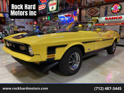 1972 Ford Mustang for sale at Rock Hard Motors Inc in Treynor IA