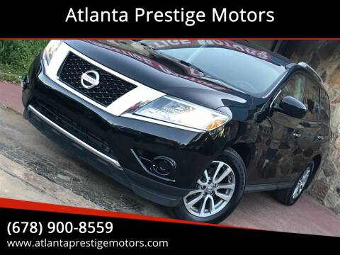 2013 Nissan Pathfinder for sale at Atlanta Prestige Motors in Decatur GA