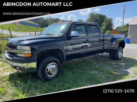 2001 Chevrolet Silverado 3500 for sale at ABINGDON AUTOMART LLC in Abingdon VA