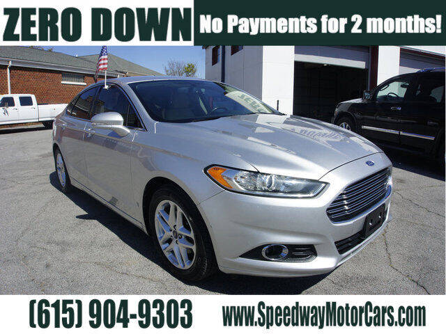 2013 Ford Fusion for sale at Speedway Motors in Murfreesboro TN