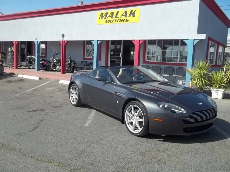 2008 Aston Martin V8 Vantage for sale at Atayas Motors INC #1 in Sacramento CA