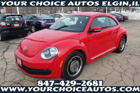2012 Volkswagen Beetle for sale at Your Choice Autos - Elgin in Elgin IL