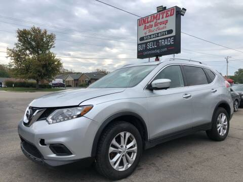 2015 Nissan Rogue for sale at Unlimited Auto Group in West Chester OH