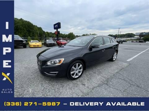 2016 Volvo V60 for sale at Impex Auto Sales in Greensboro NC