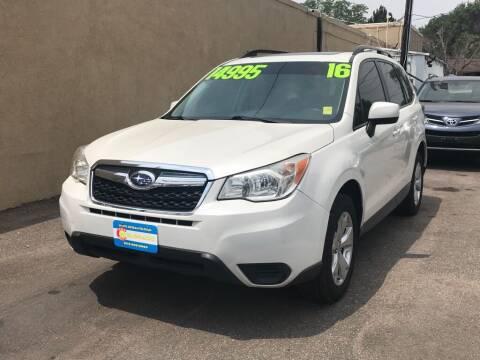 2016 Subaru Forester for sale at 303Auto.com in Denver CO