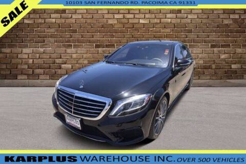 2015 Mercedes-Benz S-Class for sale at Karplus Warehouse in Pacoima CA