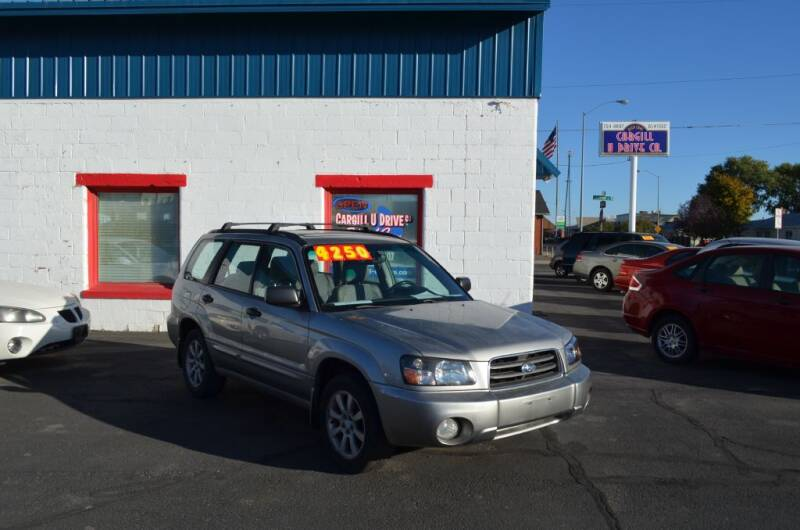 2005 Subaru Forester for sale at CARGILL U DRIVE USED CARS in Twin Falls ID