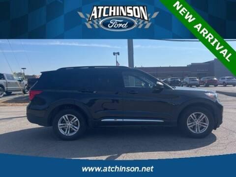 2020 Ford Explorer for sale at Atchinson Ford Sales Inc in Belleville MI