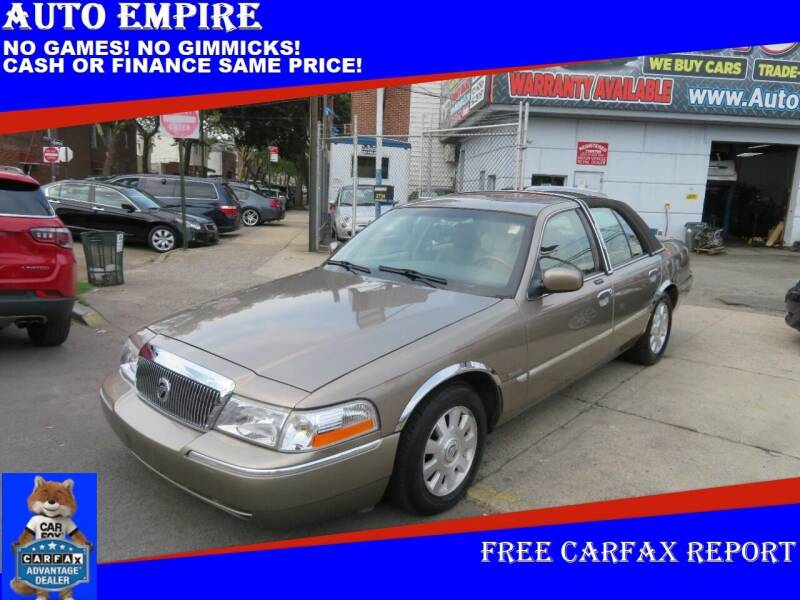 2003 Mercury Grand Marquis for sale at Auto Empire in Brooklyn NY