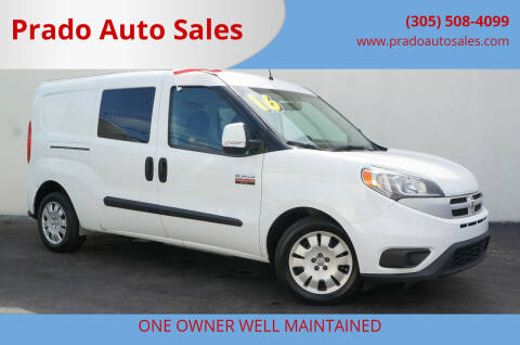 2016 RAM ProMaster City Wagon for sale at Prado Auto Sales in Miami FL