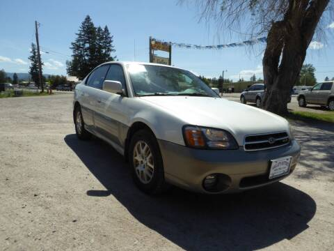 2002 Subaru Outback for sale at VALLEY MOTORS in Kalispell MT