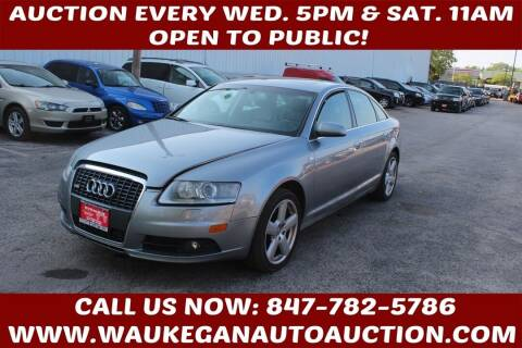 2008 Audi A6 for sale at Waukegan Auto Auction in Waukegan IL