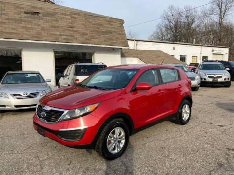 2011 Kia Sportage for sale at ENFIELD STREET AUTO SALES in Enfield CT